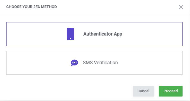 Two-Factor Authentication - MetricsCube